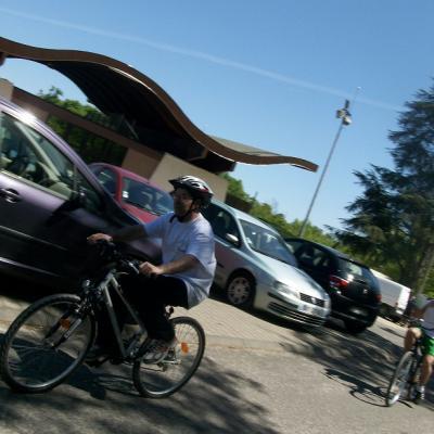 Marcel à vélo